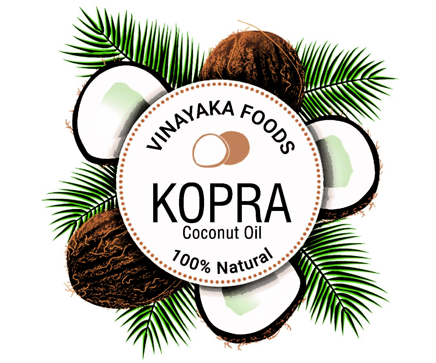 Kopra Pure Coconut Oil
